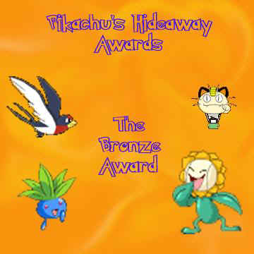 This award it from Pikachu's Hideaway